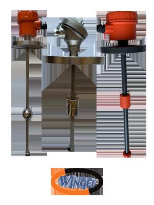 Vertical Level Transmitter Model : LTS