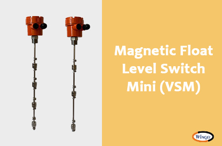 Wingel Mini Vertical Float Level Switch model VSM for our overseas client whose based in Egypt
